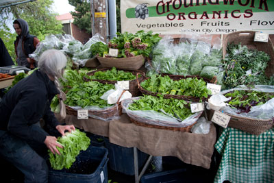 Groundwork Organics, King Farmers Market